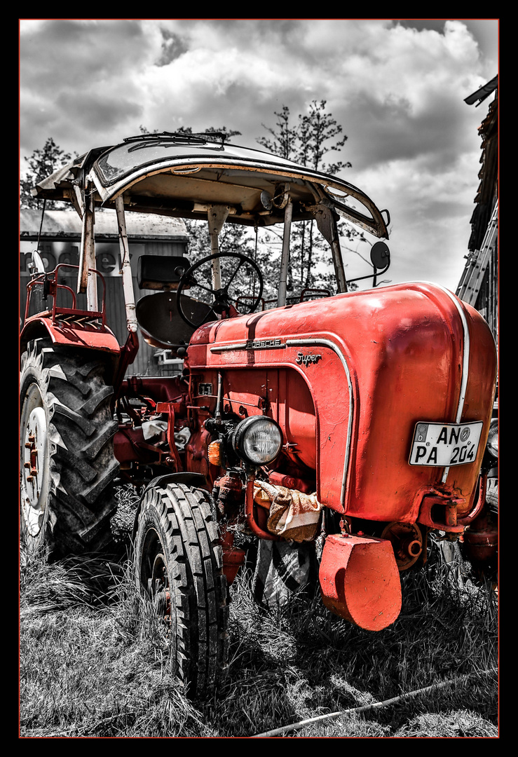 old red one
