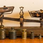 Old Scale used in Small shops with Weights