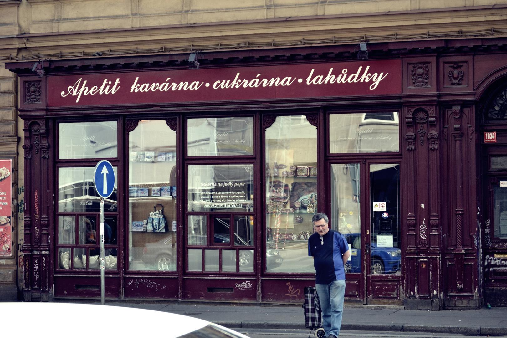 Old shop in Prag