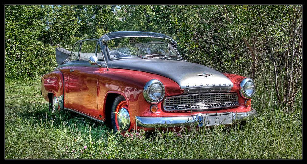 Old Skool GDR Car - Wartburg Cabrio vom Feinsten!