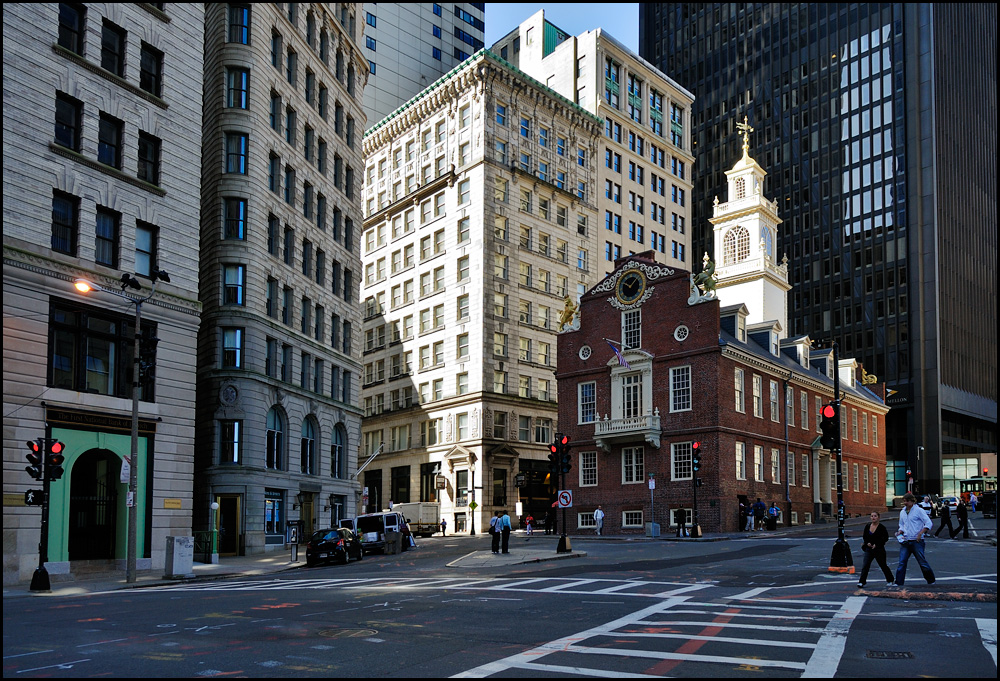 [ Old State House Boston ]