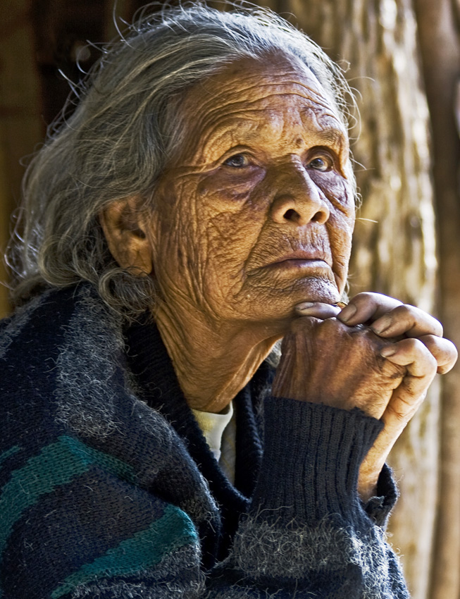 Old Vietnamese Lady