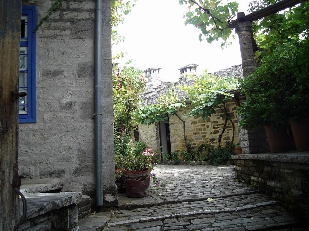 old village in Epirus mountains.Greece