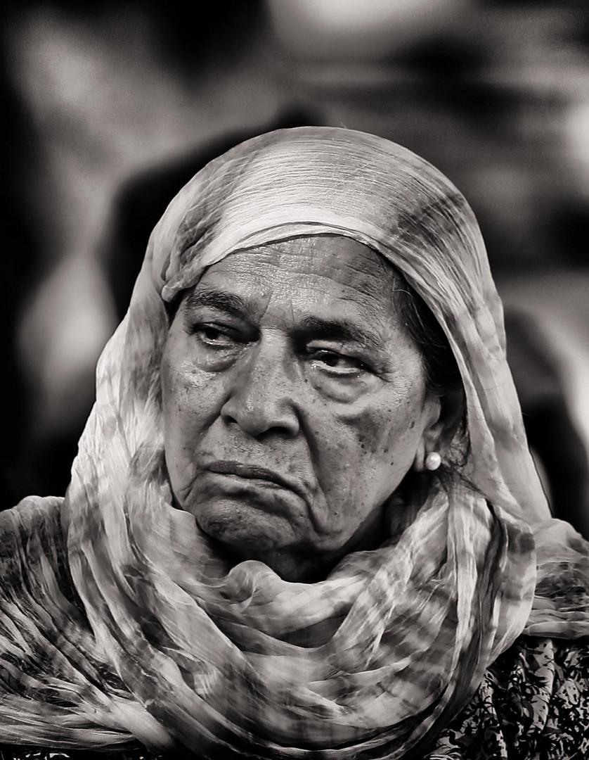 OLD WOMAN IN TURKEY