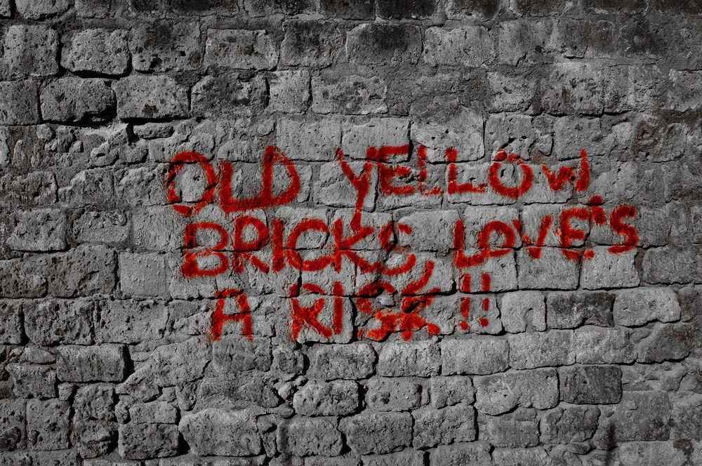 old yellow bricks......