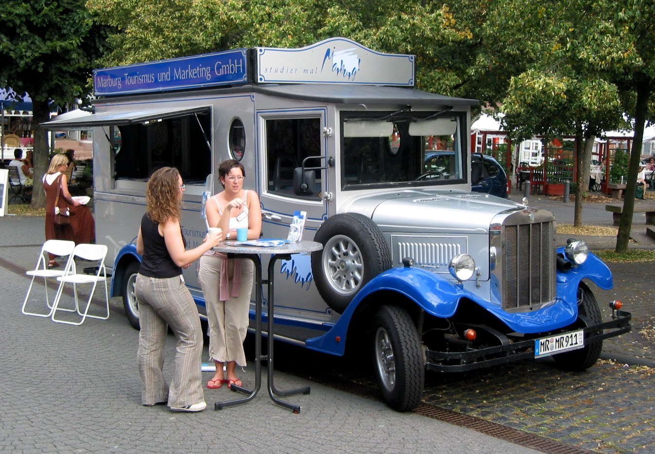 Oldiebus gesehen in Marburg!