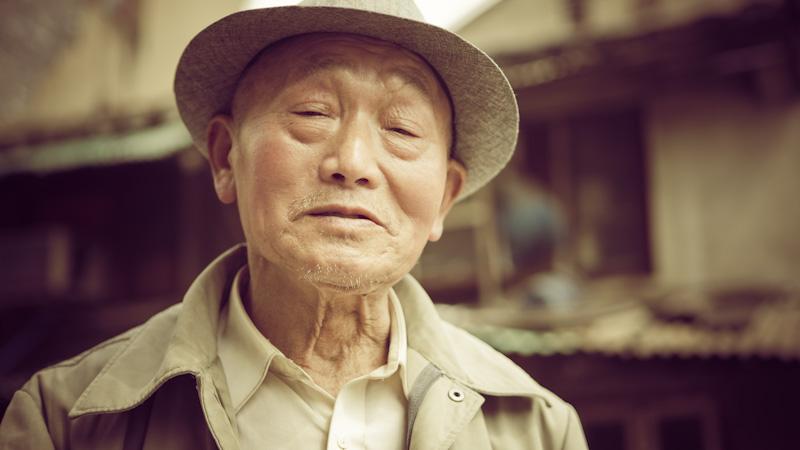oldman in Shanghia