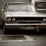 Oldsmobil-Oder die Erinnerung an längst vergessenen Zeiten