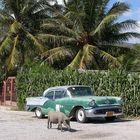 Oldsmobile am Strand