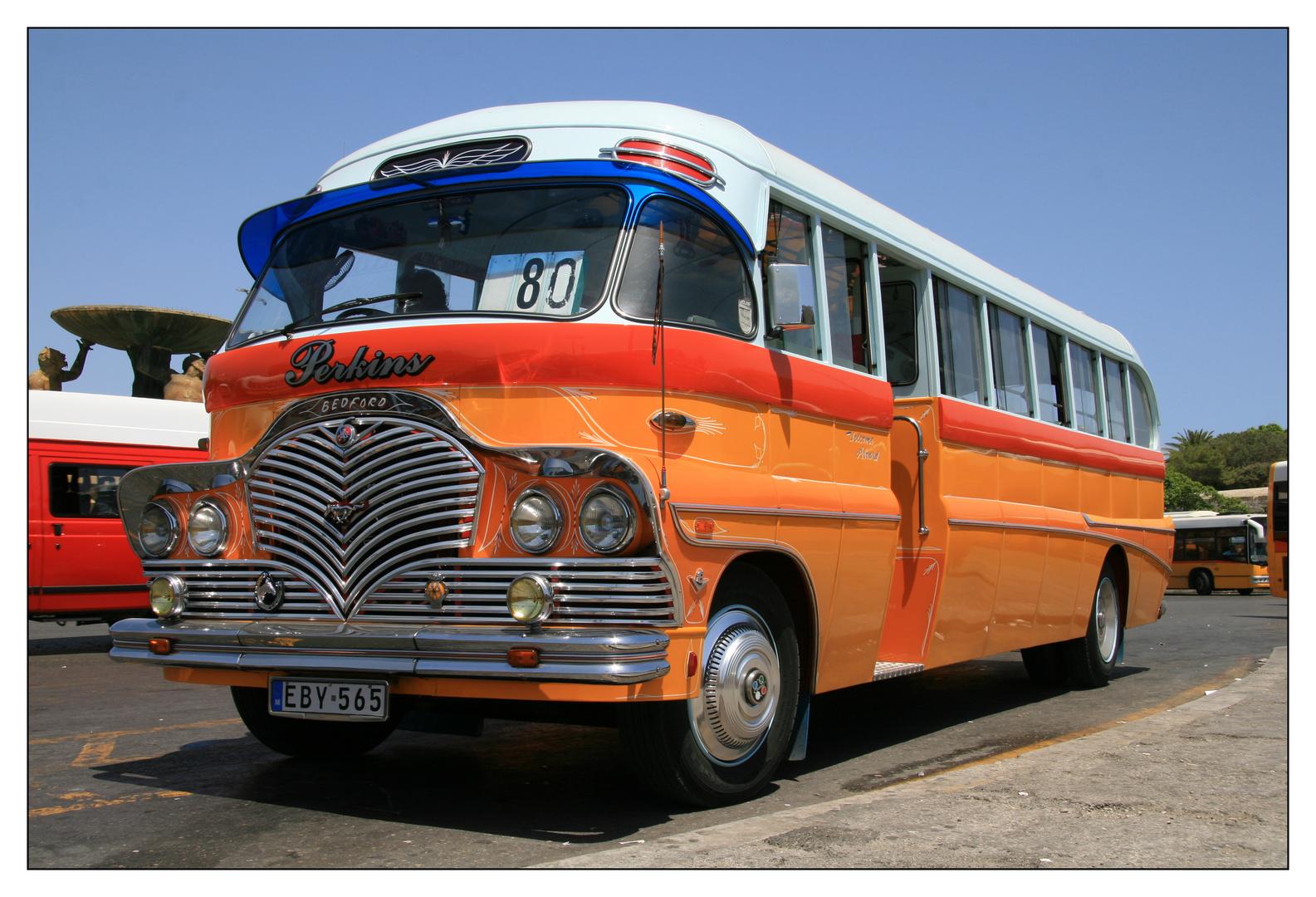 oldtimer bus malta foto bild bus nahverkehr. Black Bedroom Furniture Sets. Home Design Ideas