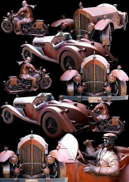 Oldtimer - Collage