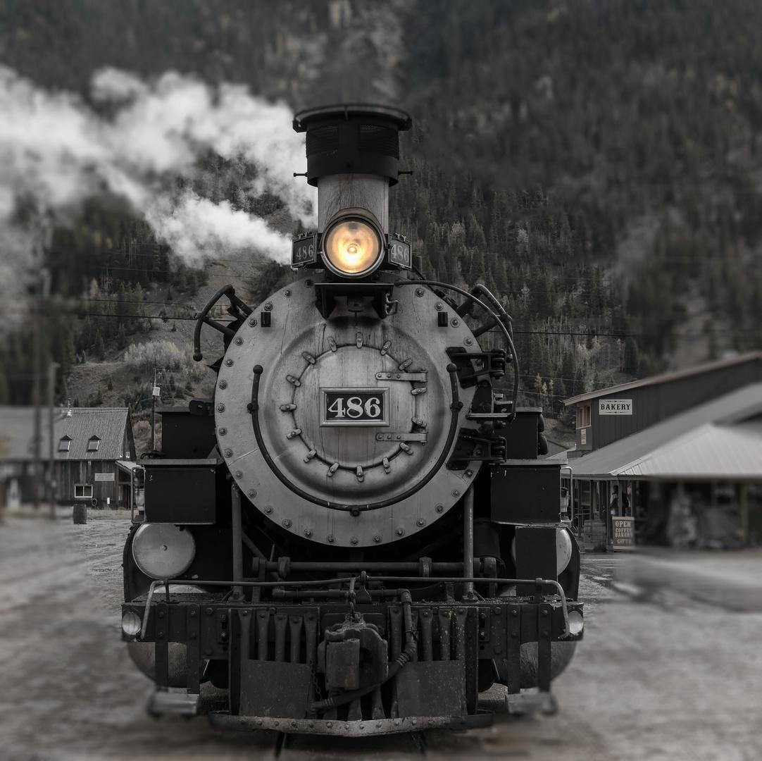Oldtimer Dampflok