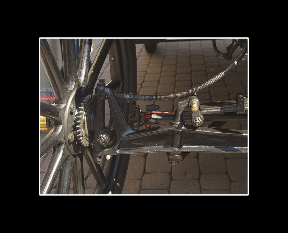 Oldtimer Detail Lenkung