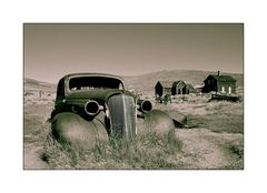 Oldtimer in Bodie USA