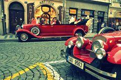 Oldtimer in Prag ( Stadrundfahrt