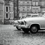 Oldtimer in the rain