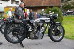 Oldtimer Motorradtreffen der Black Shadows 1