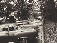 Oldtimer Parkplatz