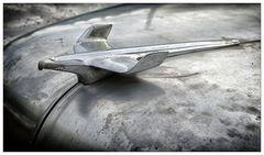 Oldtimer-Stahlkarossendetails