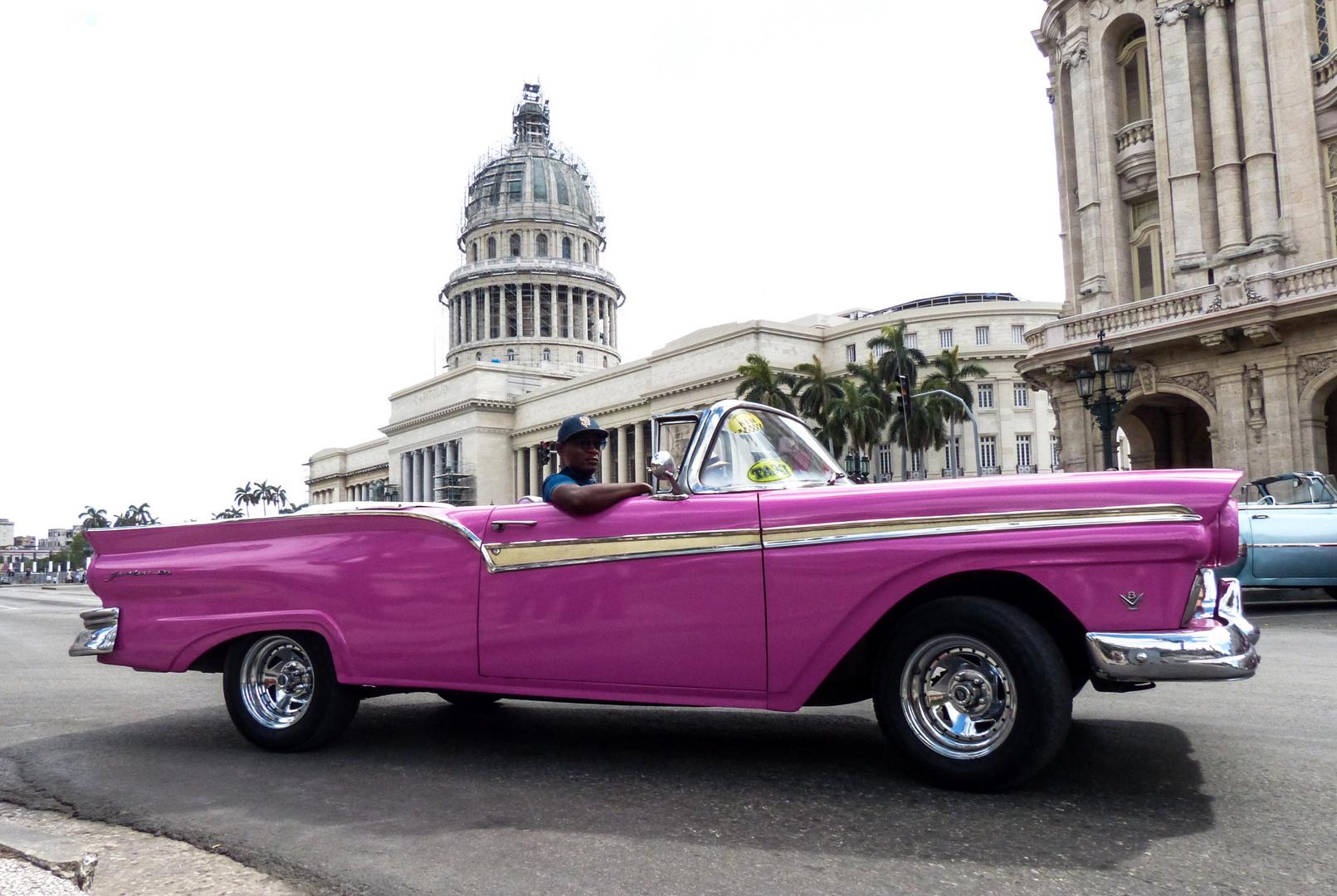 Oldtimer Taxi - Havanna