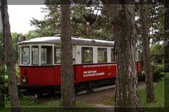 Oldtimer - Tram im Wald