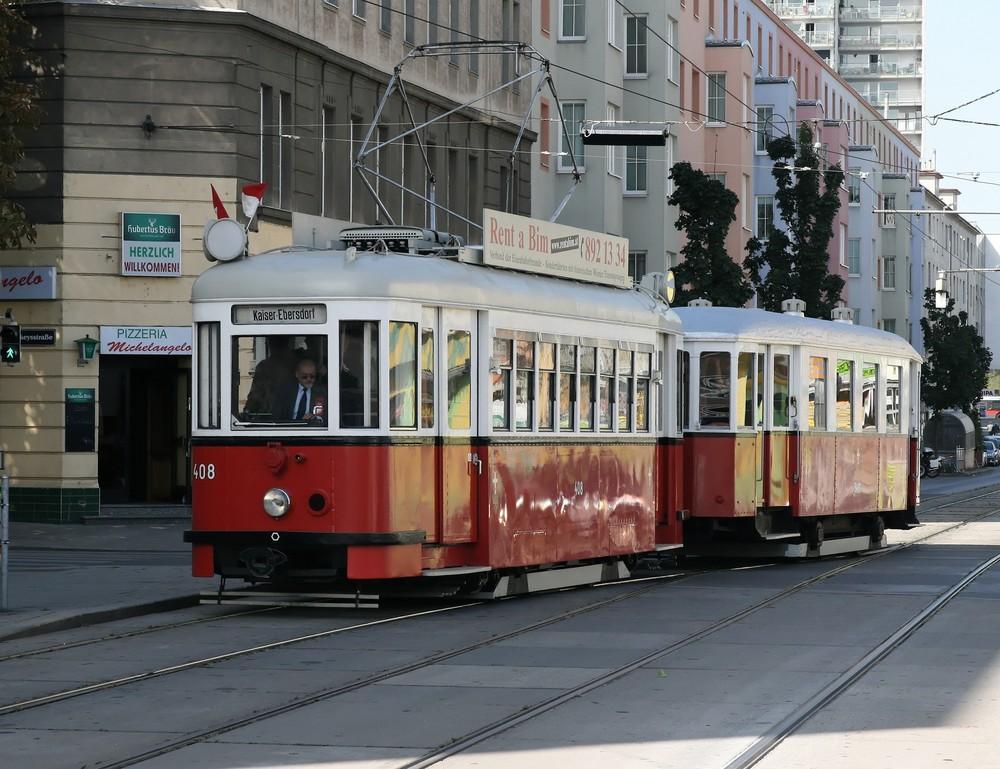 Oldtimer Tramway in Wien