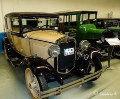 Oldtimer von Ford - aber auch fahrtüchtig mit Zulassung