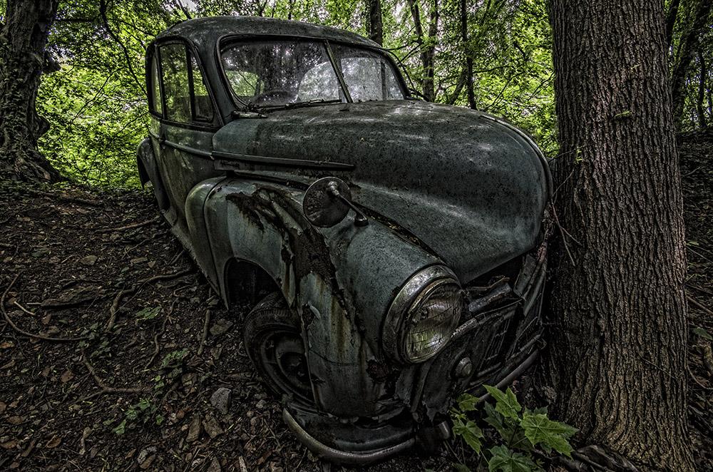 Oldtimerfriedhof - crash