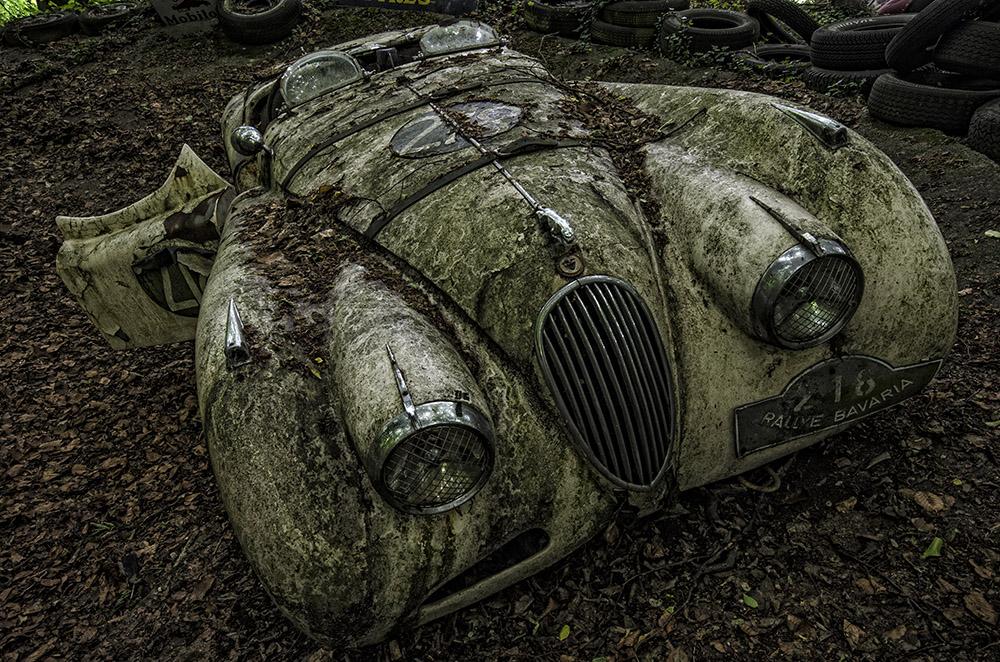 Oldtimerfriedhof - Jaguar