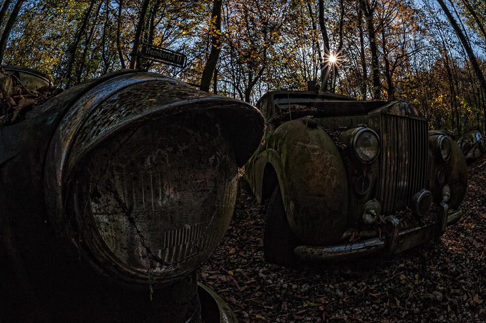 Oldtimerfriedhof - Rolls-Royce