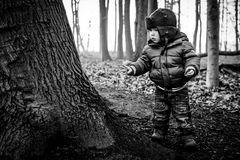 Ole im Wald