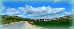 Oléoduc sur la route de Tabarka