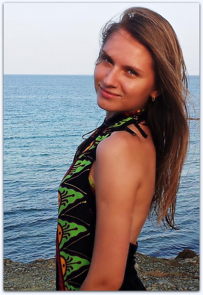 Olga en la playa 6