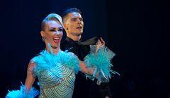 Olga Kulikova&Dmitry Zharkov beim Slow Fox
