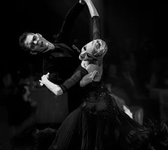 Olga Kulikva&Dmitry Zharkov beim Langsamen Walzer