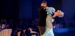 Olga Kulikva&Dmitry Zharkov beim Slow Fox