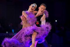 Olga Kulikva&Dmitry Zharkov beim Wiener Walzer