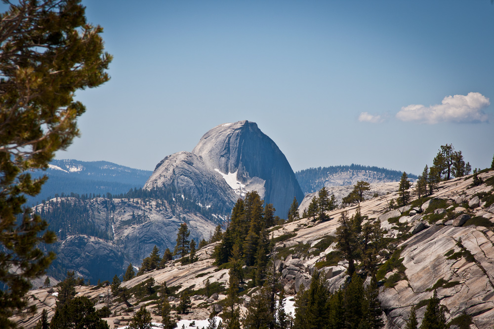 Olmsted Point Yosemite Park