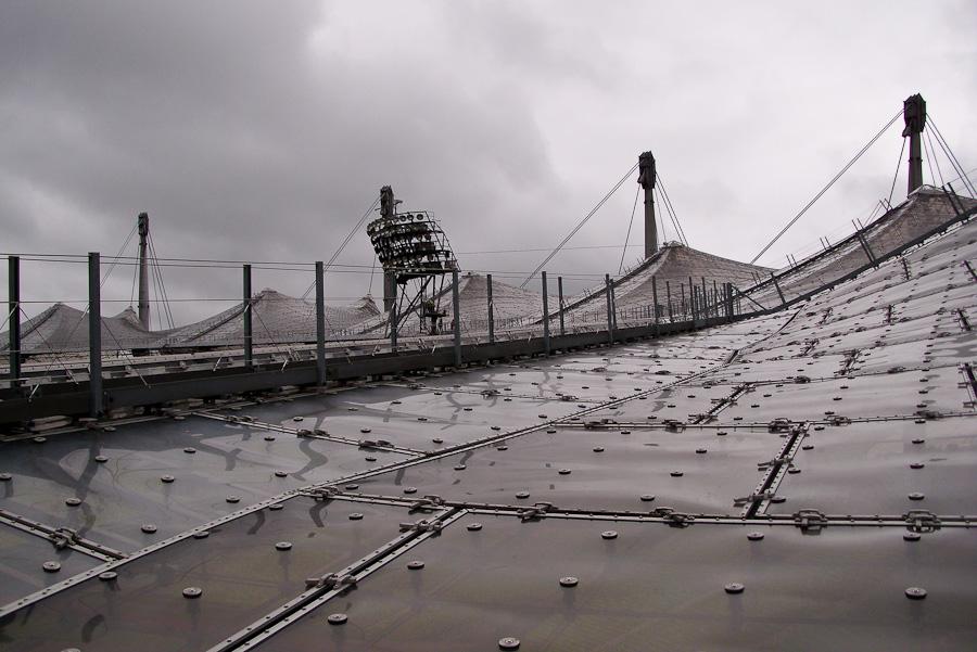 Olympia-Gelände München - Dachkonstruktion
