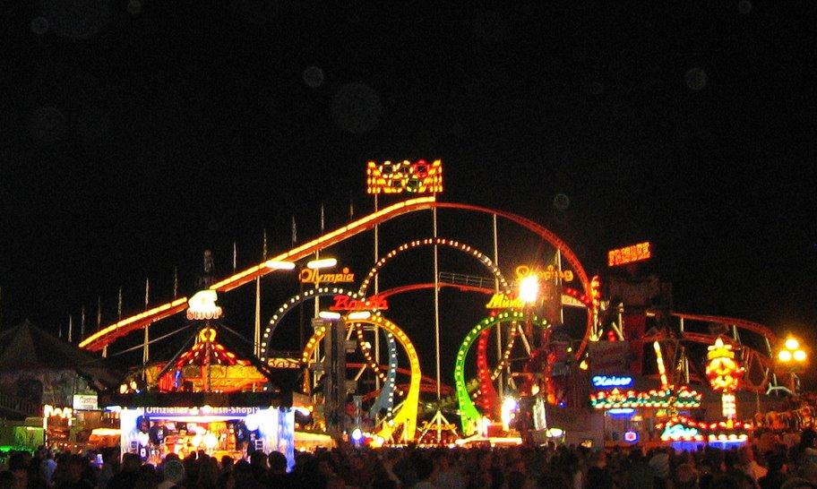 Olympia Roller Coaster  (Oktoberfest 2007) :.: Olympia Achterbahn