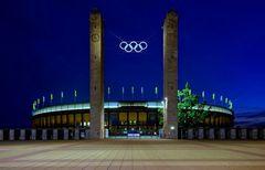 Olympiastadion anlässlich der Leichtathletik WM