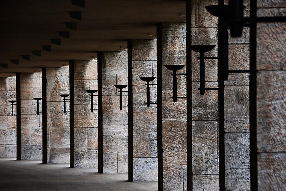 Olympiastadion Berlin - Säulengang