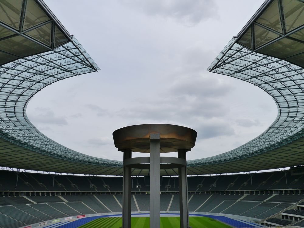 Olympiastadion heute ...