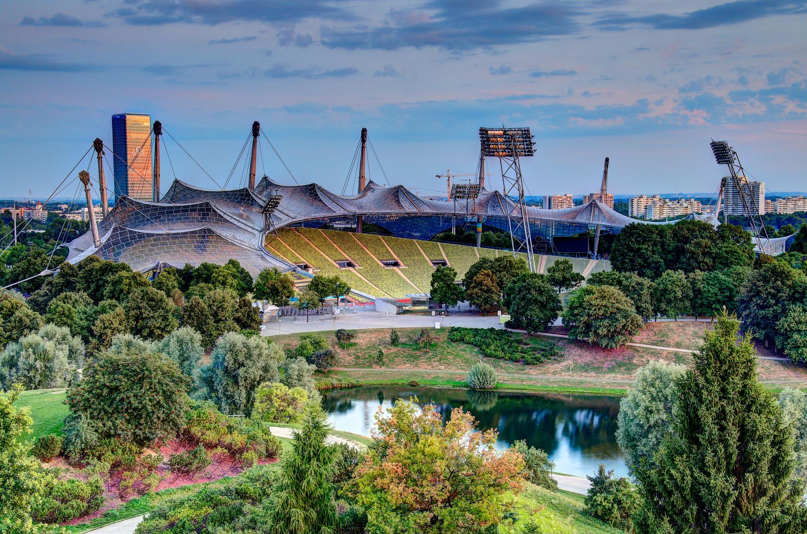Olympiastadion München - HDR malerisch