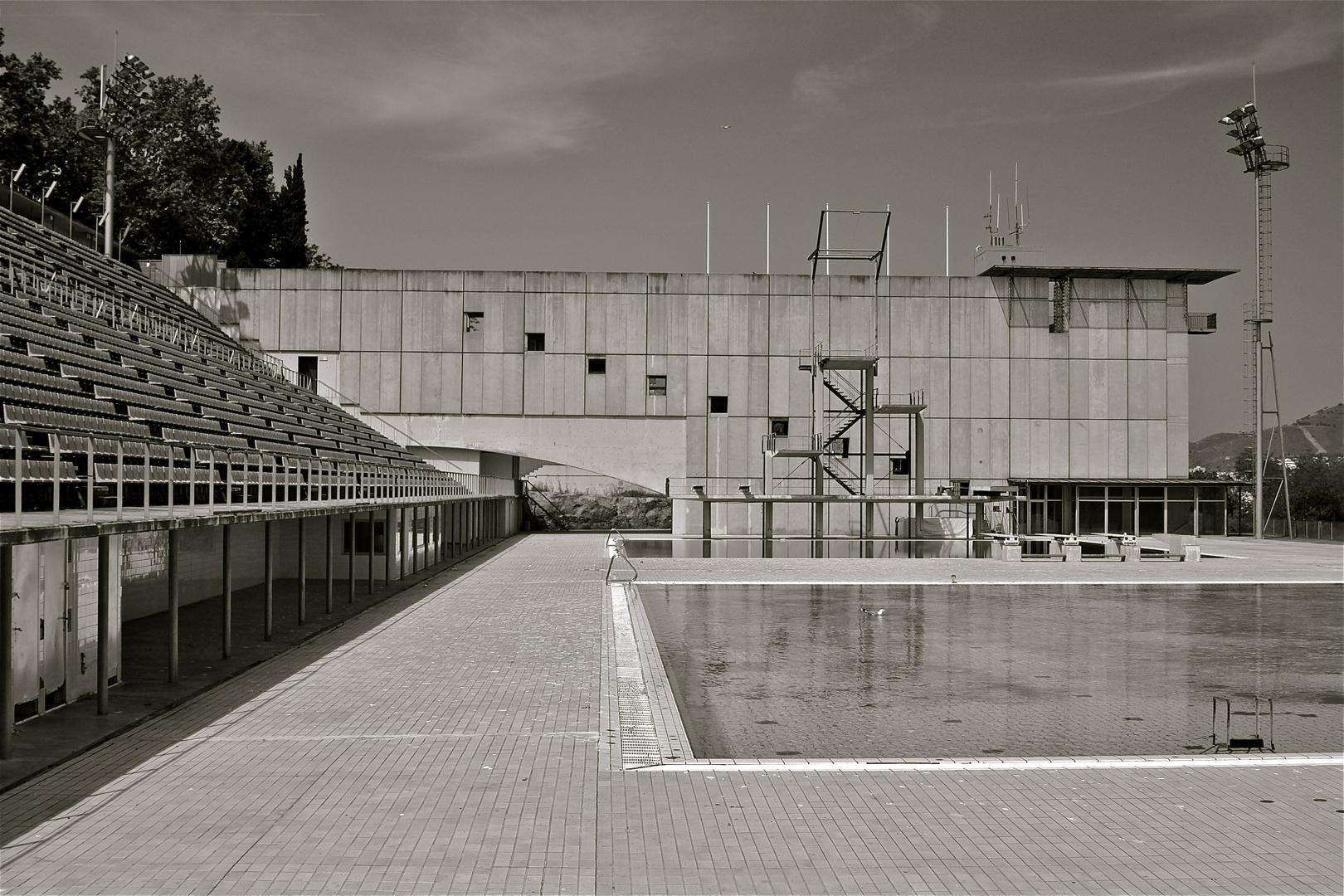 Olympic Swim Stadium Barcelona