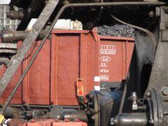 Om Wagen mit Kohlen beladen im bw Siegen....