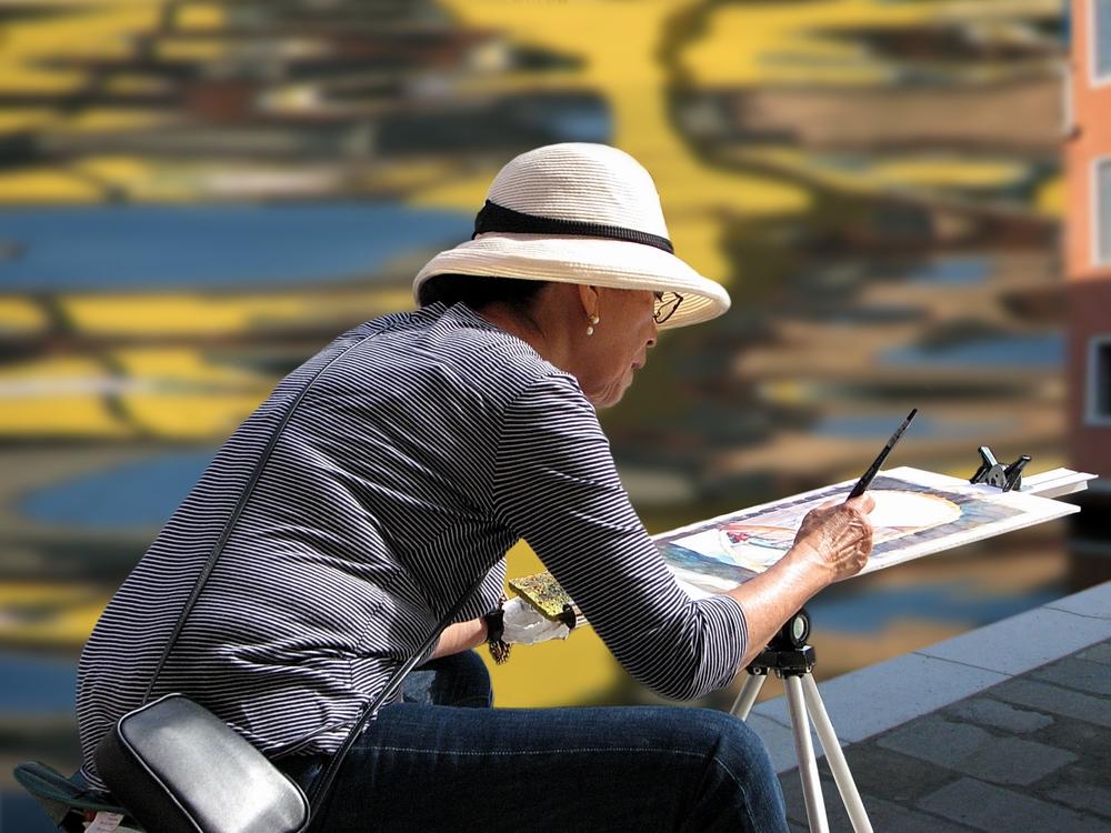 Omaggio ad una pittrice