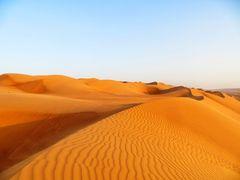 Omani desert dunes