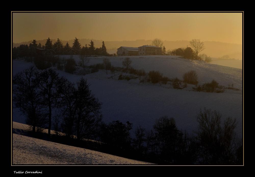 ....ombre del tramonto....