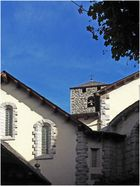 Ombre et lumière sur l'Eglise Saint-Estève (XIIème)  --  Andorre-la-Vieille